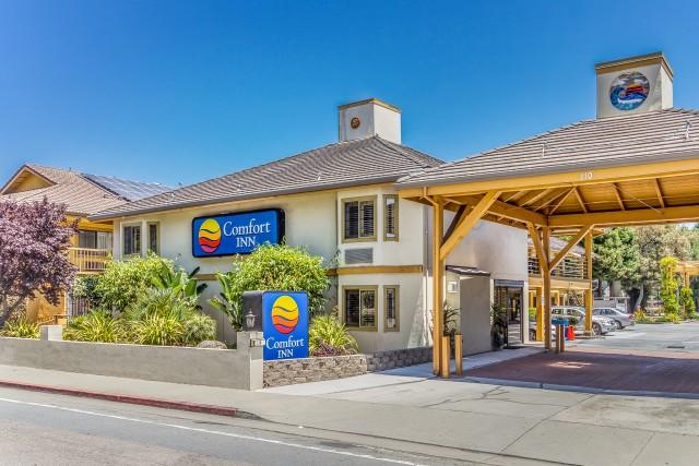 comfort inn santa cruz top hotel near santa cruz beach. Black Bedroom Furniture Sets. Home Design Ideas