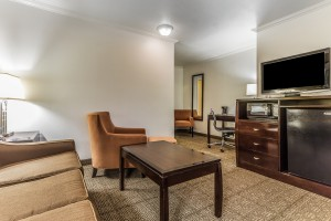 Comfort Inn Santa Cruz - Suite with Living Room